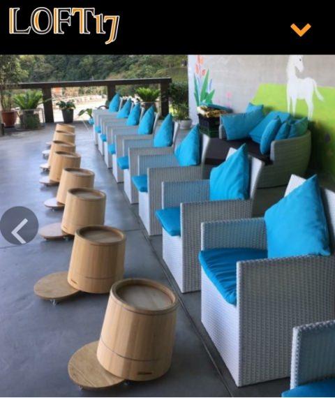 新北石碇景觀餐廳【LOFT17森活休閒園區】景觀咖啡館泡腳,下午茶,無菜單料理~親子聚餐好去處 - yukiblog.tw
