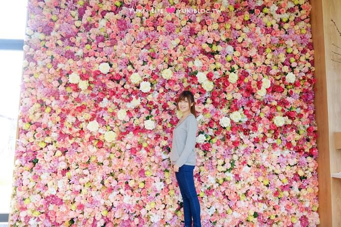 桃園平鎮景觀餐廳【HoneyWoodCafe】超大花牆×浪漫教堂LOVE拍照景點×大草皮親子好去處(晶麒莊園咖啡館) - yukiblog.tw