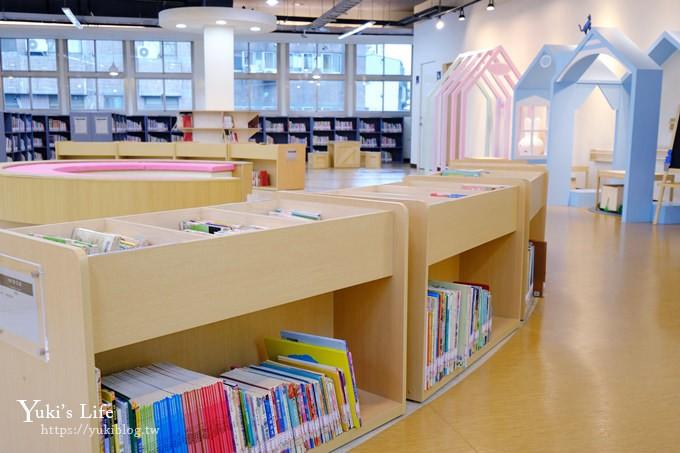 新北親子新景點【黑膠唱片主題親子圖書館】超大兒童閱覽區、玩具區、黑膠唱片展示~室內好去處(捷運站、好停車) - yukiblog.tw