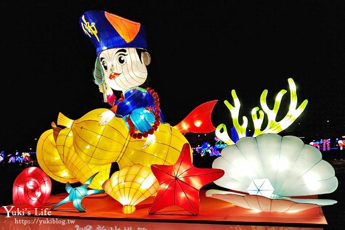 最新【2019新北市豬福滿滿】逛燈會迺夜市×免費碰碰豬親子滾燈超好玩!(活動日期、交通、地點) - yukiblog.tw
