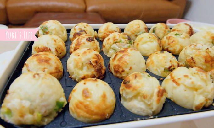 Bruno电烤盘×章鱼烧食谱~在家品尝夜市小吃就是那么简单! - yukiblog.tw