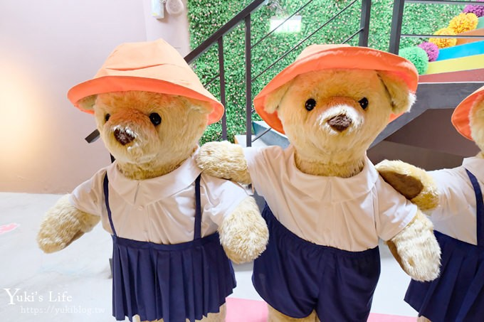 新竹景點【關西小熊博物館】巨型熊熊旋轉音樂鈴×歐洲街景拍不停!(室內景點) - yukiblog.tw
