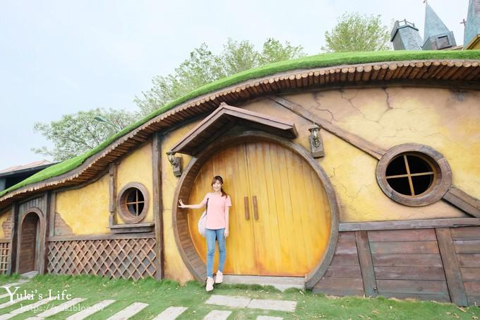 彰化親子景點《琉璃仙境》水管屋、草泥馬、大沙坑、哈比人小屋、教堂美拍攝影基地 - yukiblog.tw