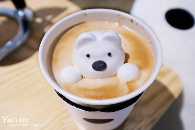 台北西門町美食【POLAR CAFE 】北極熊咖啡廳×浪漫戶外露台新開幕 - yukiblog.tw