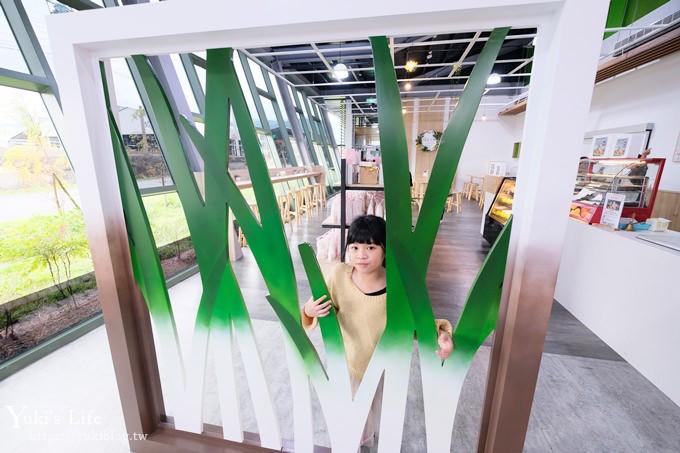 宜蘭新景點【綠舍工坊】免費休憩打卡點×三星蔥蔥阿餅好吃~ - yukiblog.tw