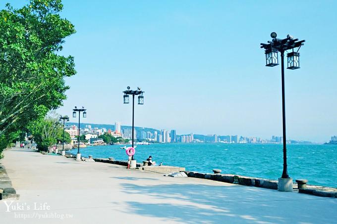 新北親子一日遊好去處【淡水海關碼頭】夕陽海景新景點×洋樓咖啡IG美拍點 - yukiblog.tw