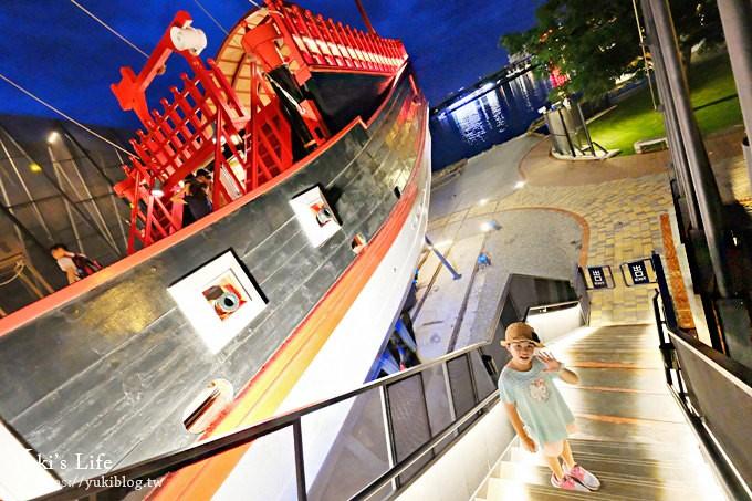 NEW新景點《1661臺灣船園區》國內第一艘一比一尺寸台灣成功號!夜景超美的! - yukiblog.tw
