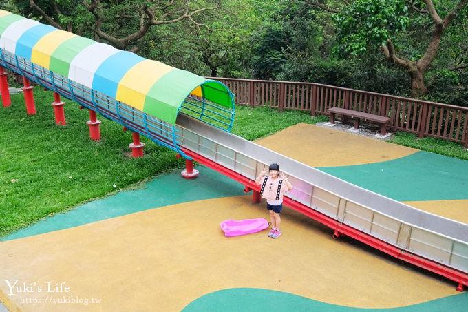 嘉義免費親子景點《半天岩紫雲寺》號稱全台最長滾輪溜滑梯×小沙彌主題公園 - yukiblog.tw