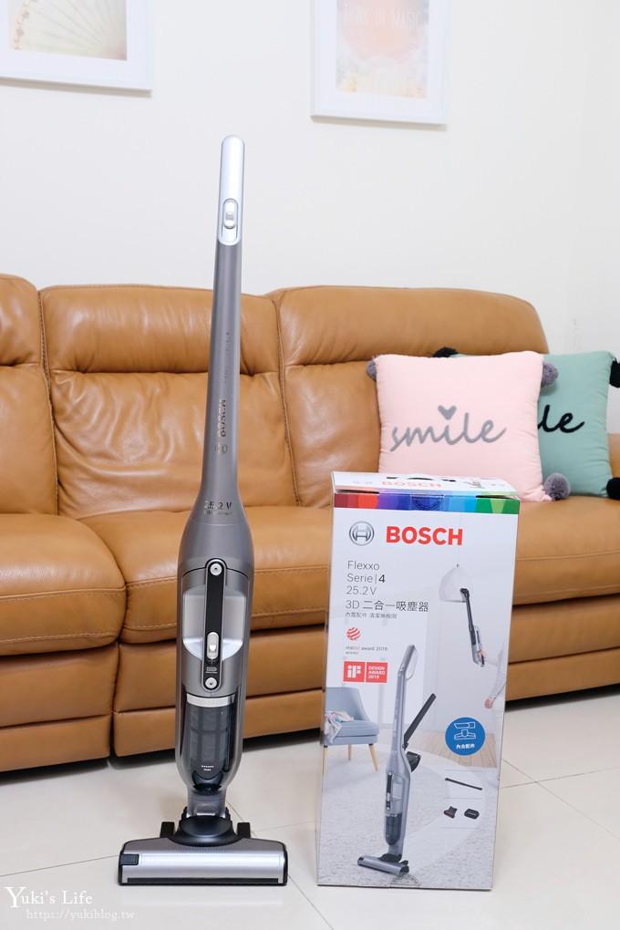 Bosch淨擊二合一無線吸塵器》55分鐘長效續航×免靠牆、變換手持輕巧打掃超靈活(BCH3252TW) - yukiblog.tw