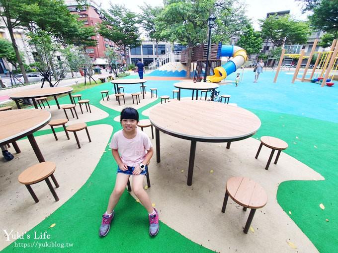 桃園特色公園》2019升級版富士山溜滑梯×櫻花瓣戲水池預計7月開玩 - yukiblog.tw