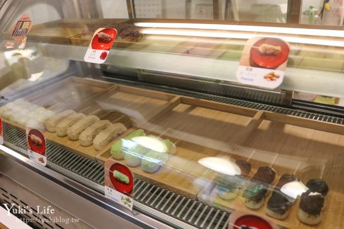 台北淡水美食【福和菓子】每日新鮮現做7種口味糰子串(捷運淡水站) - yukiblog.tw