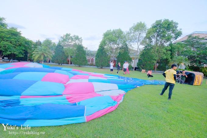 台东亲子住宿【日晖国际渡假村】热气球×Villa房×池上生态导览必玩亮点 - yukiblog.tw