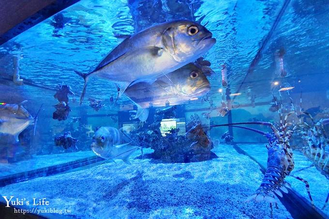 宜兰免费亲子景点【金车生技水产养殖研发中心】根本是水族馆超好逛、鲜虾现场吃、儿童游戏区 - yukiblog.tw