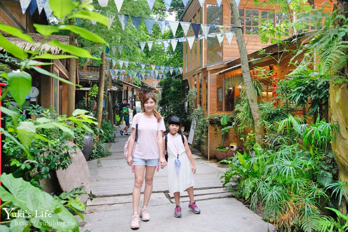 浪漫親子景點【卓也小屋】縮小版三義名勝、牛角村花園都在這兒×客家藍染體驗 - yukiblog.tw