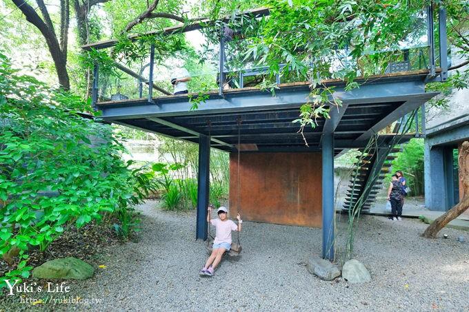新竹免費景點《厚食聚落》洞穴喝咖啡×森林系網美特色餐廳