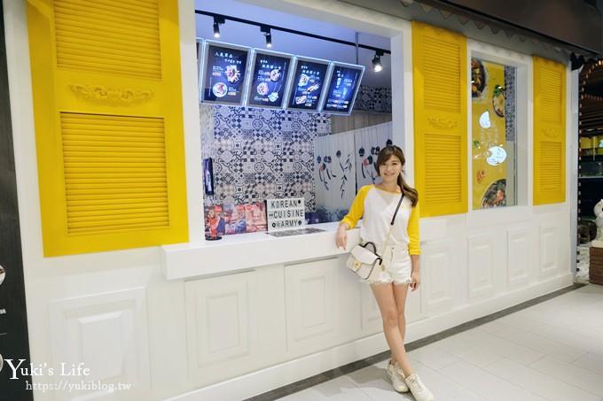 台中秀泰站前店美食【刘震川韩潮吧】韩式炸鸡×铸铁锅两吃超丰富~ - yukiblog.tw