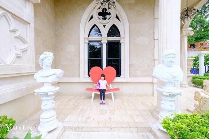 南投景點【妮娜巧克力夢想城堡】埔里日月潭「歐洲宮廷古堡」變身超美公主 - yukiblog.tw