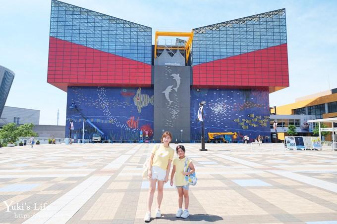 大阪景点【大阪海游馆】亲子同游好去处×可以摸鲨鱼和𫚉鱼哦! - yukiblog.tw