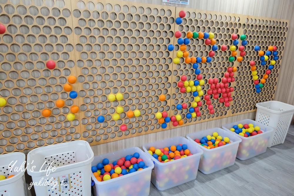 台中親子景點【約客&厚禮築夢手創館】超大禮物盒就在這!兒童沙坑遊戲場、室內外都好玩 - yukiblog.tw