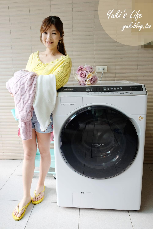 洗衣機推薦【Panasonic 雙科技變頻滾筒洗衣機 NA-V160HDH】洗劑量自動精準投入×烘衣快又香又軟×除蟎抗菌~洗衣乾淨真輕鬆 - yukiblog.tw