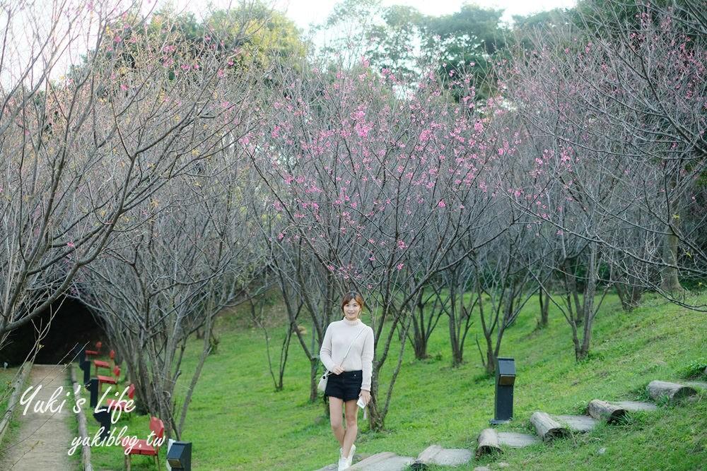 桃园亲子景点【春天农场】异国风情浪漫森林~喂动物、落羽松、赏樱花、烤肉、好吃面包下午茶 - yukiblog.tw