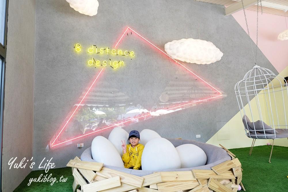 彰化田尾新景點【捌程小8親子cafe'】露天浪漫美食×繪本風城堡球池×兒童專屬運動場×跑跑賽車GO! - yukiblog.tw