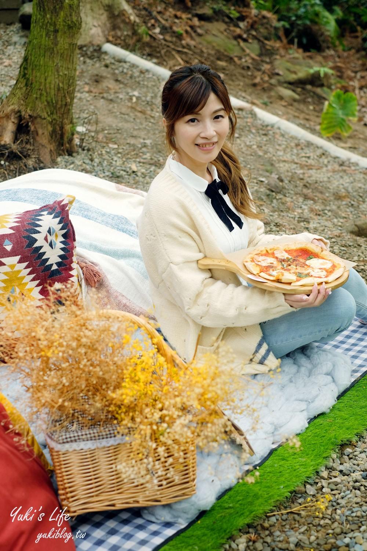 新竹美食景點【森窯have a Picnic】迷霧森林野餐吃pizza×網美、親子體驗自然冒險場 - yukiblog.tw