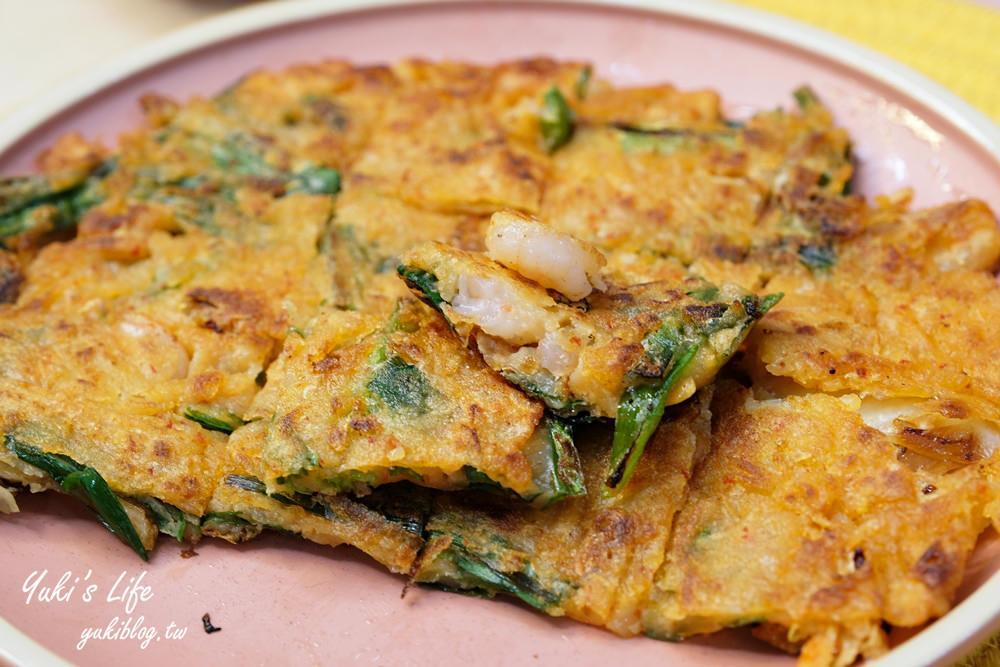 【韓式泡菜海鮮煎餅】簡易酥脆版食譜!秘密武器原來是這個! - yukiblog.tw