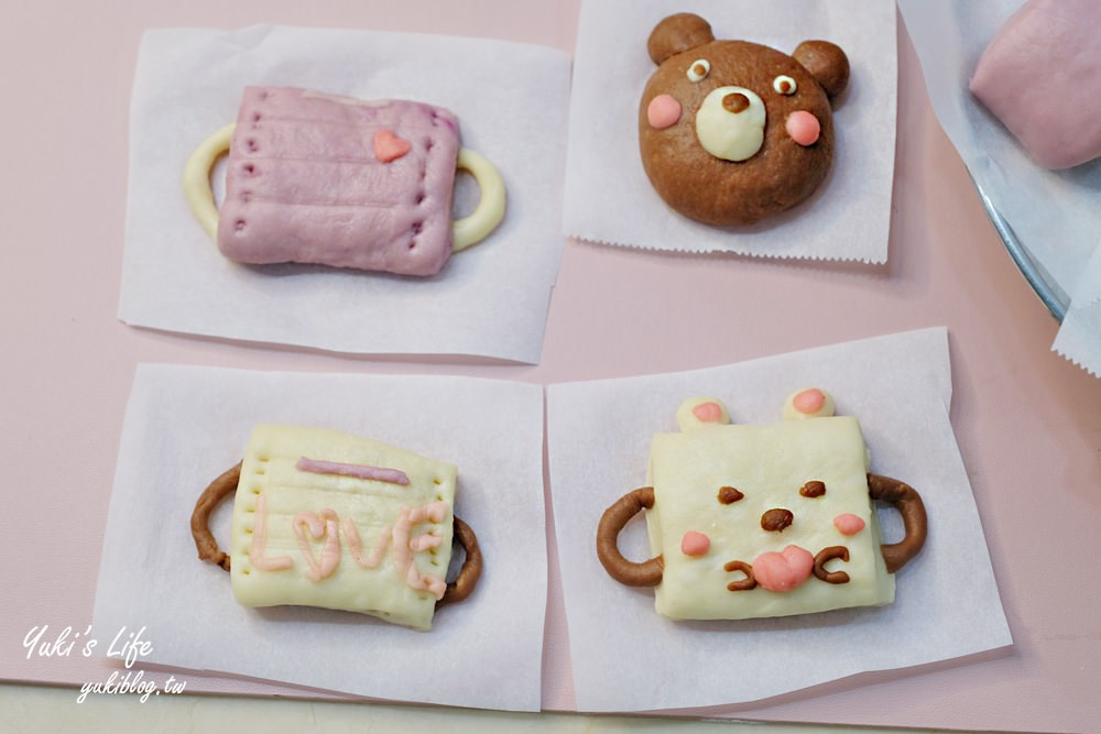 親子DIY》彩色鮮奶小饅頭食譜×口罩造型饅頭~簡單揉一揉好吃又好玩! - yukiblog.tw