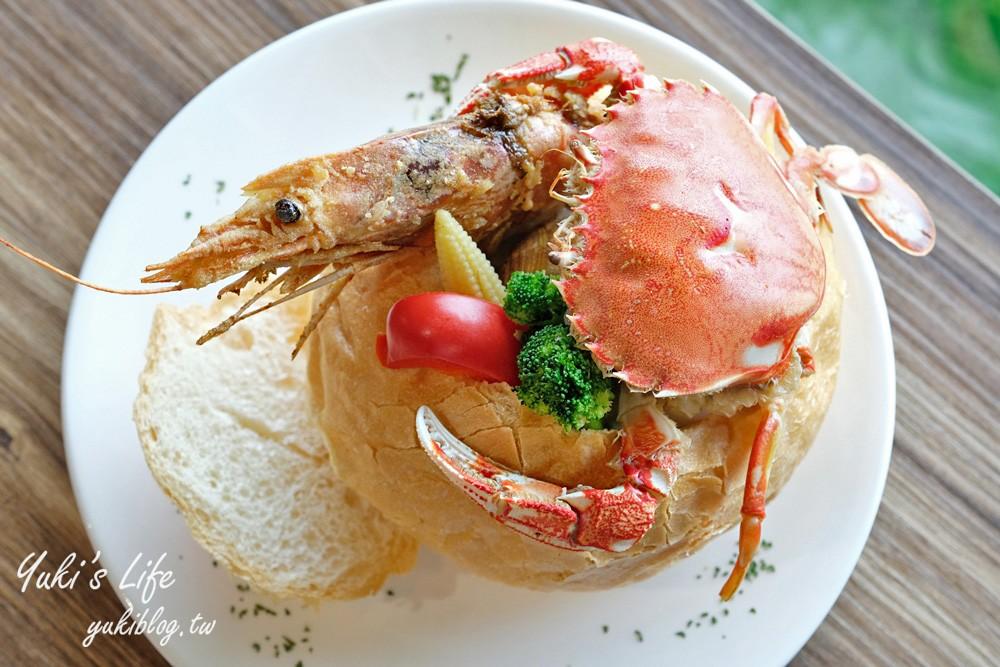 基隆美食【藍食謐境】和平島異國料理×看海景觀餐廳×親子玩沙玩水 - yukiblog.tw