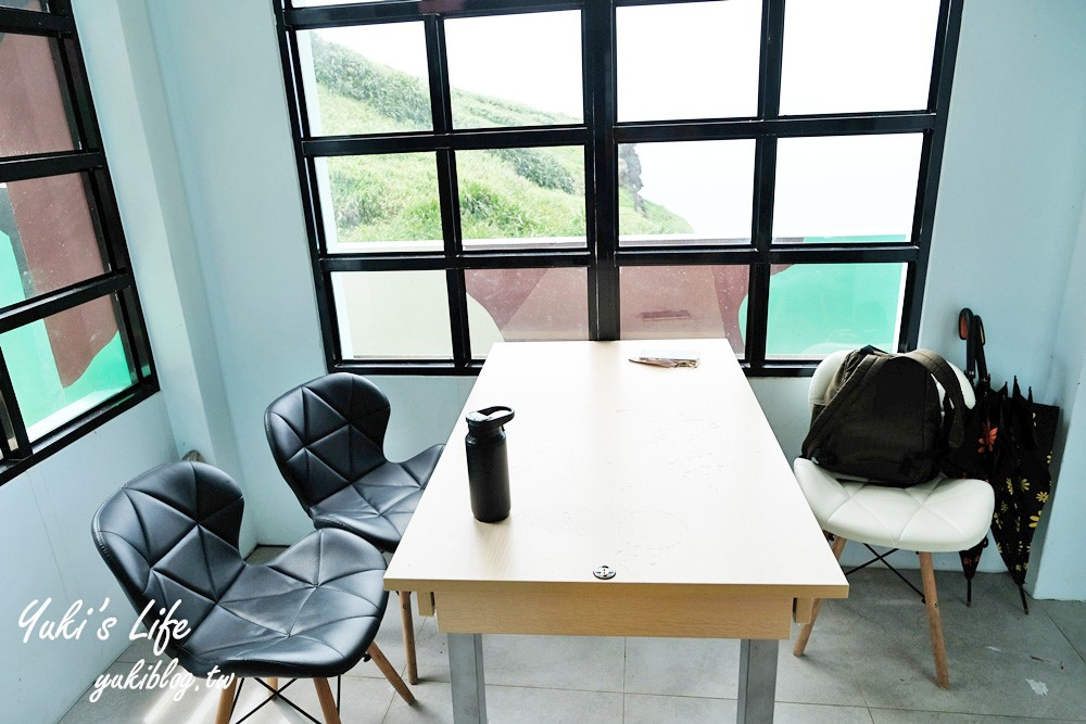 東北角景點【聽濤cafe】鼻頭角聽濤營區喝咖啡賞海景×療癒美景好值得 - yukiblog.tw
