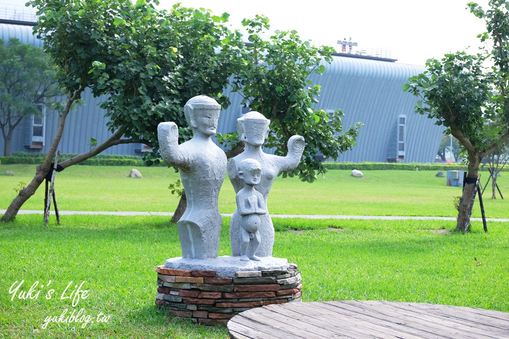 新北景點【十三行博物館】考古寶庫親子之旅×室內玩耍、野餐玩沙一站玩透透! - yukiblog.tw