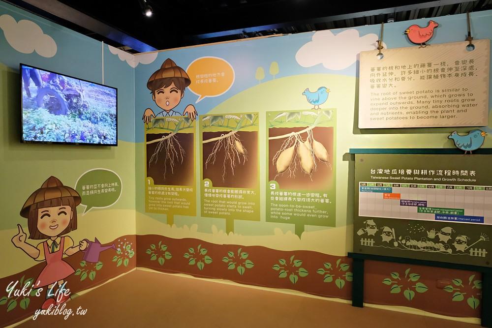 台南親子景點【瓜瓜園地瓜生態故事館】免費觀光工廠~好吃好玩又有互動展覽 - yukiblog.tw