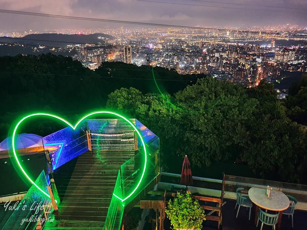 陽明山夜景餐廳【草山夜未眠】全新改版搶訂位了!浪漫旋轉木馬、LED玫瑰燈海 - yukiblog.tw
