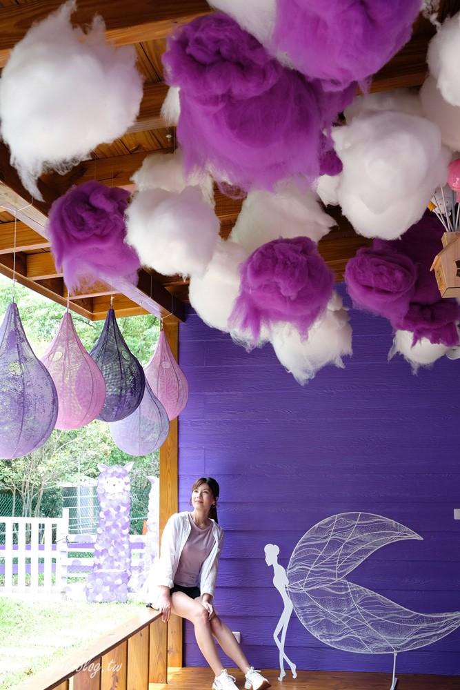 最浪漫紫的景點》OHANA CAFE~愛情聖地也有草泥馬!愛情傘、戀愛巴士 都超好拍(目前休園中) - yukiblog.tw