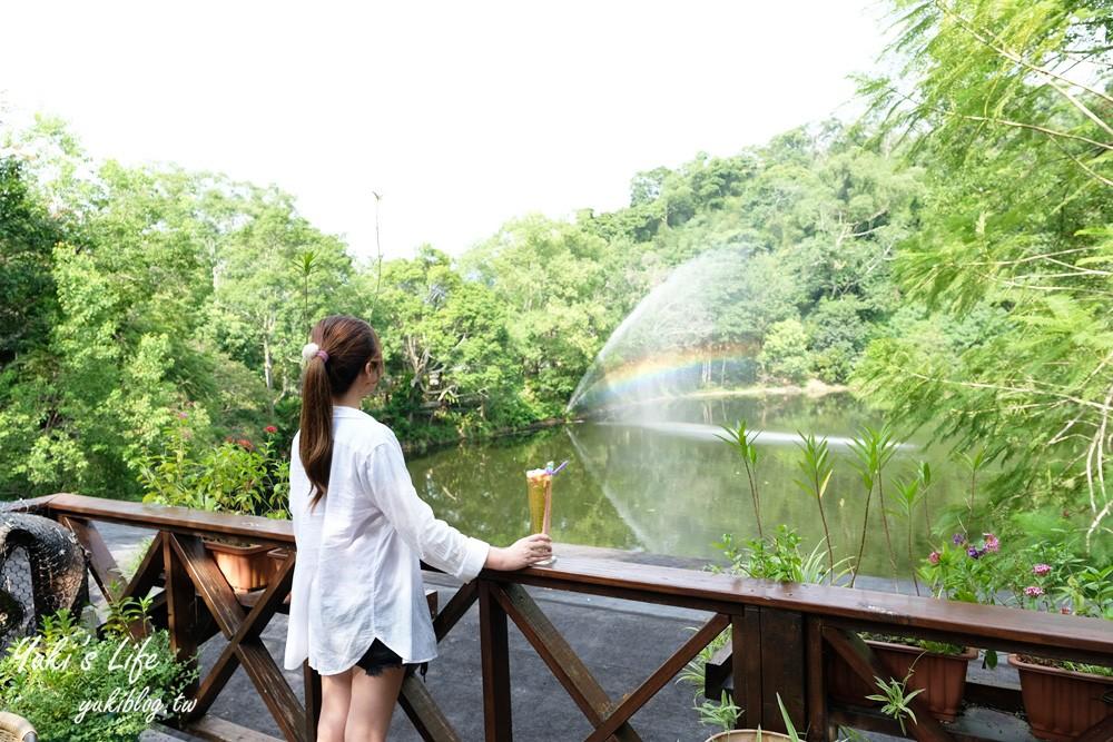 苗栗大湖【湖畔花时间】一只大白鹅景观餐厅、苗栗温泉住宿会馆 - yukiblog.tw