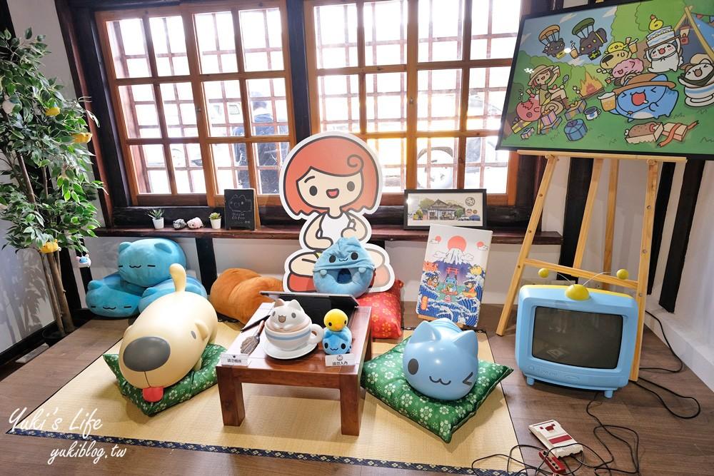 台中免费景点【咖波屋】疗愈巴士站!猫猫虫咖波主题日式纪念品店 - yukiblog.tw
