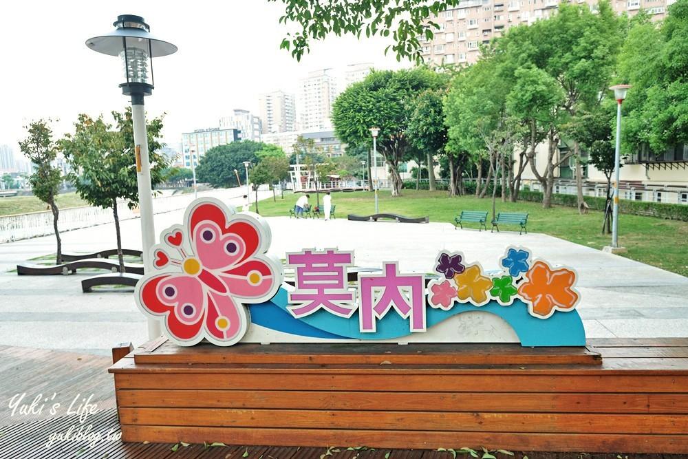 桃园亲子一日游【南崁溪水岸自行车道】龟山到竹围渔港~必打卡好玩景点全分享 - yukiblog.tw