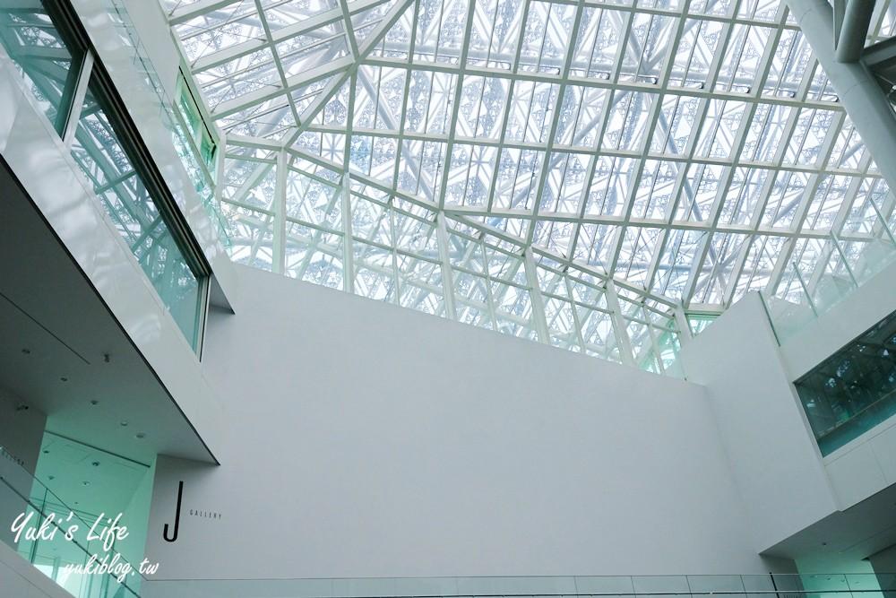 台南景點【台南市美術館2館】台南必朝聖地標之一~感受空間與光影交織的美 - yukiblog.tw