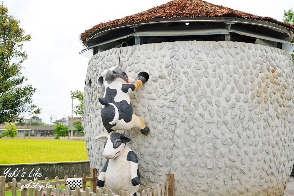 雲林免費景點【千巧谷牛樂園牧場】乳牛主題親子好去處!玩沙、餵牛、豬舍文青咖啡館吃窯烤pizza - yukiblog.tw