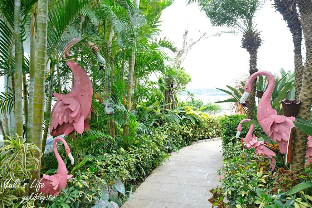 八里美食【水灣BALI景觀餐廳】峇里島無邊際水池海景餐廳、新北渡假風格約會聖地 - yukiblog.tw