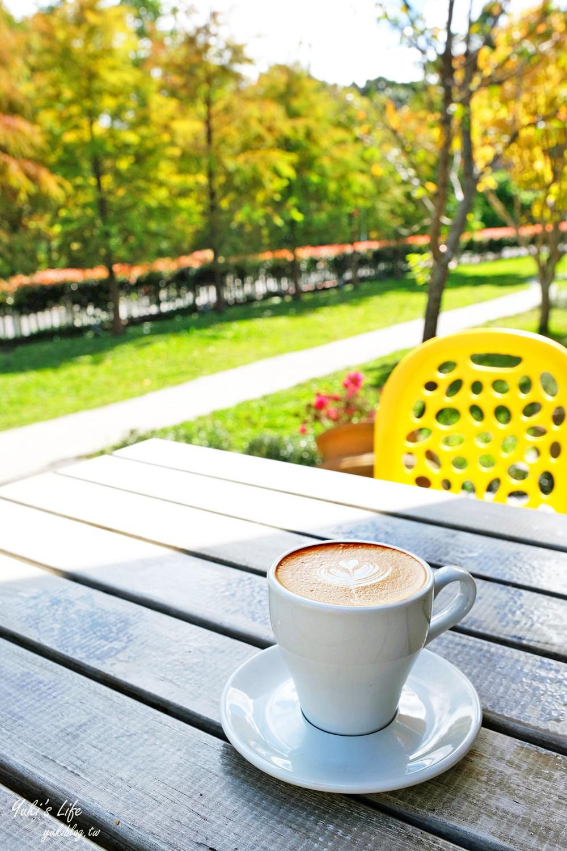 陽明山景觀餐廳【The Cafe' By 想陽明山】賞落羽松、藝文氛圍咖啡美食推薦(有停車場) - yukiblog.tw