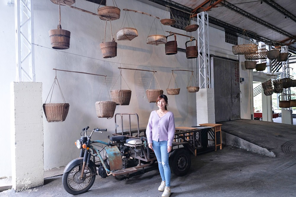 『九二咖啡故事館』南投免費逛又好拍!農耕器具展示、精品咖啡下午茶、敲敲金庫門迎財神 - yukiblog.tw