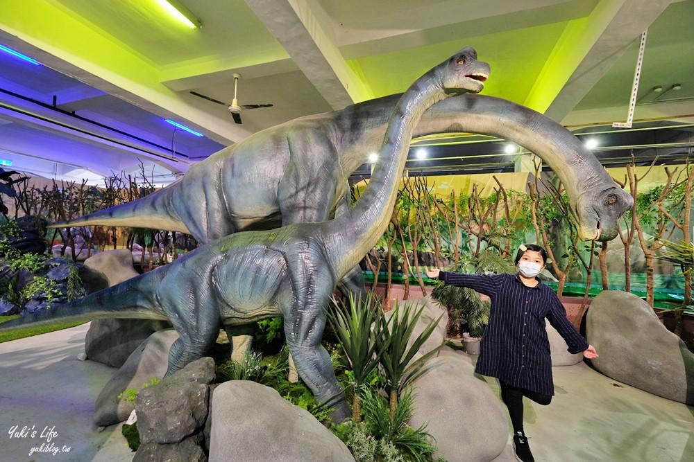 《侏羅紀X恐龍水世界》嘉義站~搭獨木舟探索恐龍樂園×坐進恐龍嘴巴搶拍(時間到4/11) - yukiblog.tw
