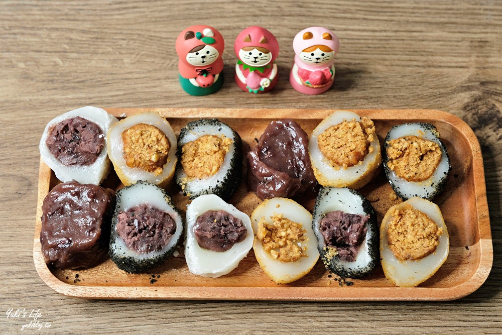 苗栗伴手禮美食「瑞盛客家米食」燒麻糬只要30元!還有現作包餡麻糬! - yukiblog.tw
