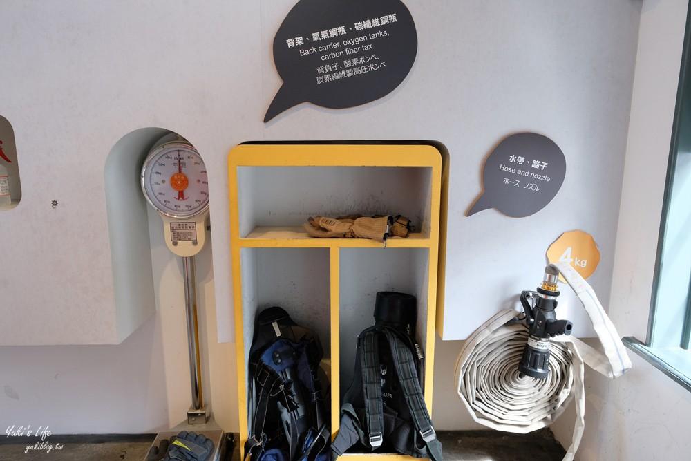 台南親子景點》臺南市消防史料館~台南一日遊免費好去處!(原臺南合同廳舍) - yukiblog.tw
