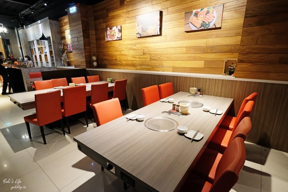 """台中烧肉吃到饱》厚切牛排,泰国虾,牡蛎,生啤酒无限享用""""羊角炭火烧肉""""满满菜单太难选择了啦! - yukiblog.tw"""