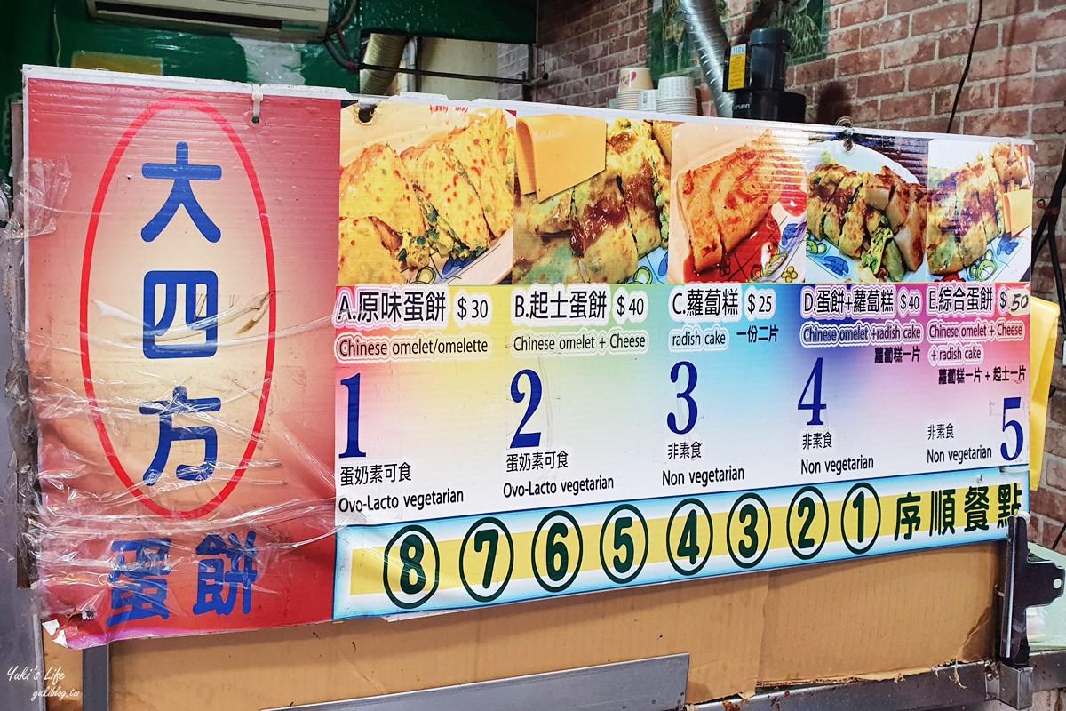 台北车站美食推荐》大四方蛋饼~铜板小吃大份量人气早餐 - yukiblog.tw