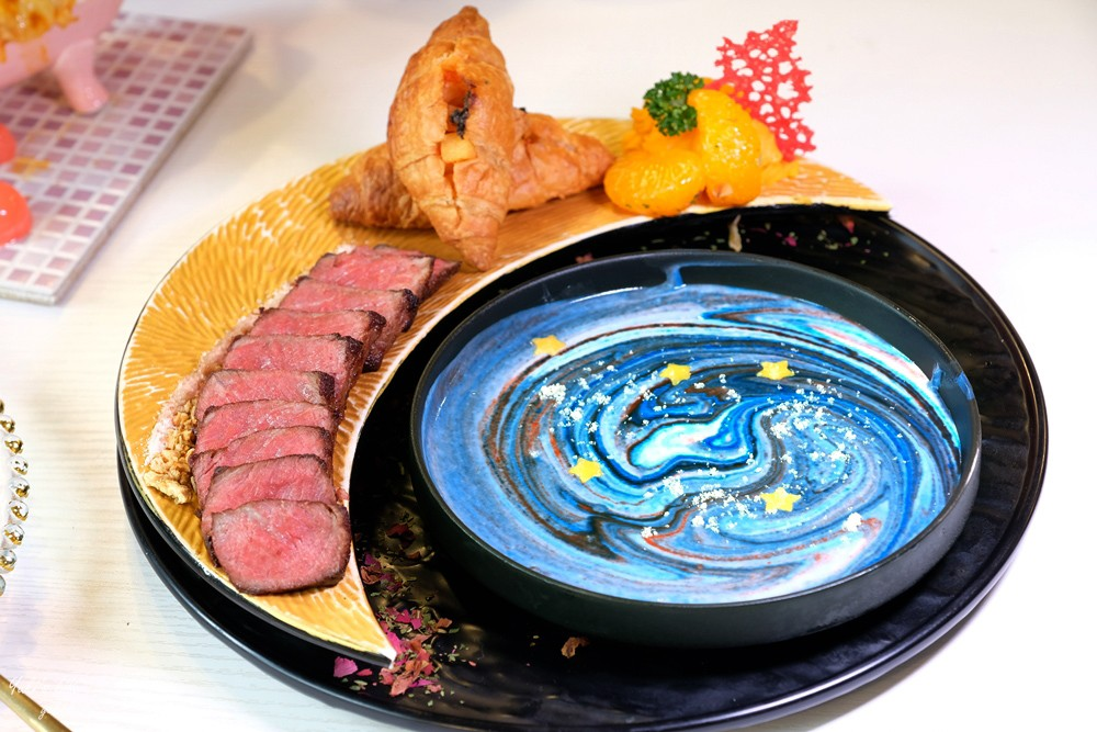 台北公館美食》BFF Gossip Brunch台北早午餐推薦,網美餐廳遇見星空料理(捷運公館站) - yukiblog.tw