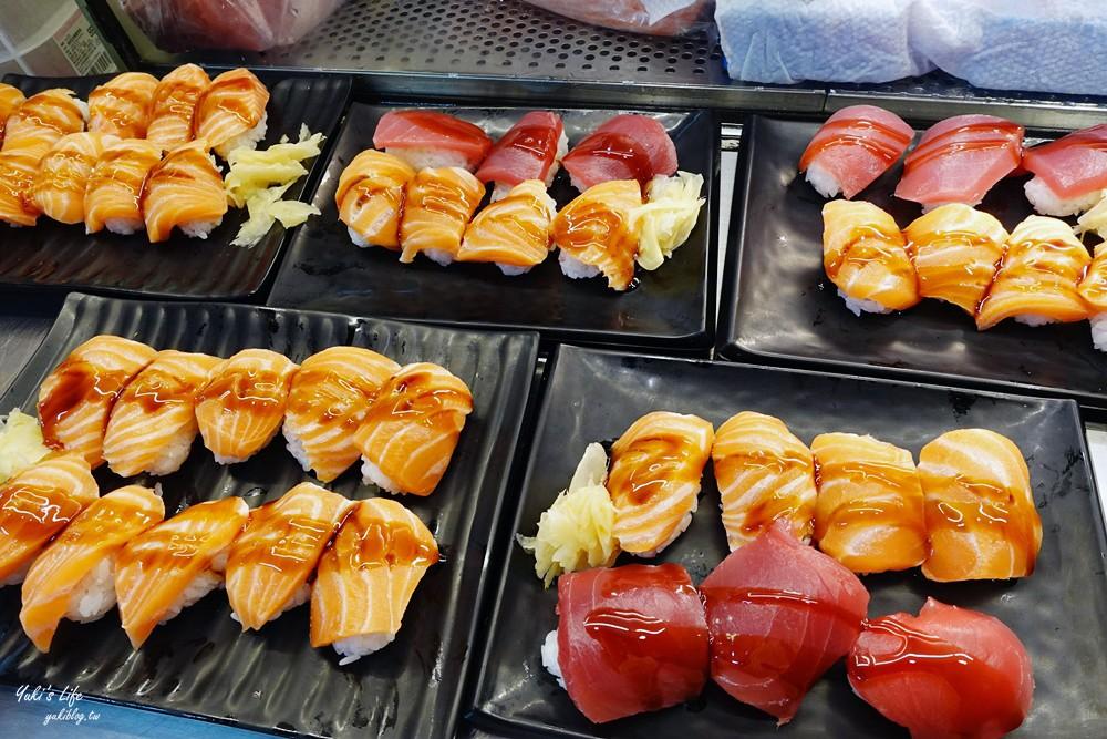 基隆必吃美食》櫻握壽司~仁愛市場2樓A12早餐推薦,平價鮭魚握壽司老饕級美食!(菜單、停車場) - yukiblog.tw